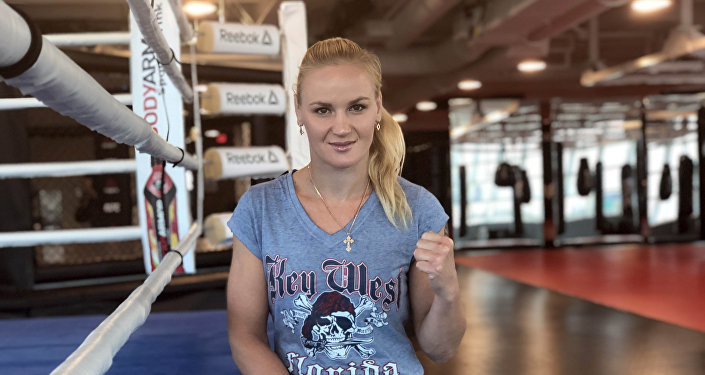 Претендентка на титул UFC в наилегчайшем весе Валентина Шевченко