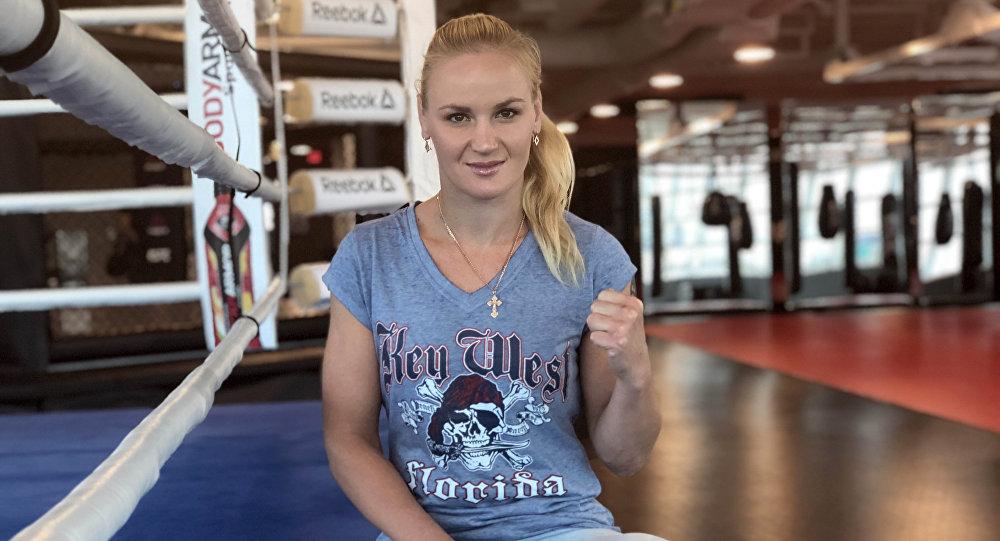Чемпионка UFC в наилегчайшем весе Валентина Шевченко. Архивное фото