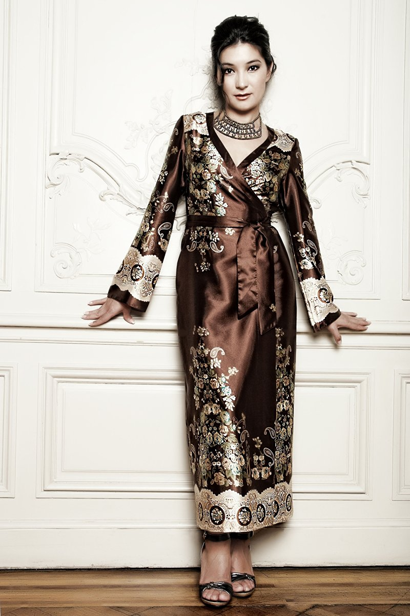 Создатель бренда одежды GULNUR Fashion Гульнур Тоялиева, живущая в Вене