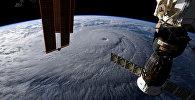 Снимок земли с космоса. Архивное фото