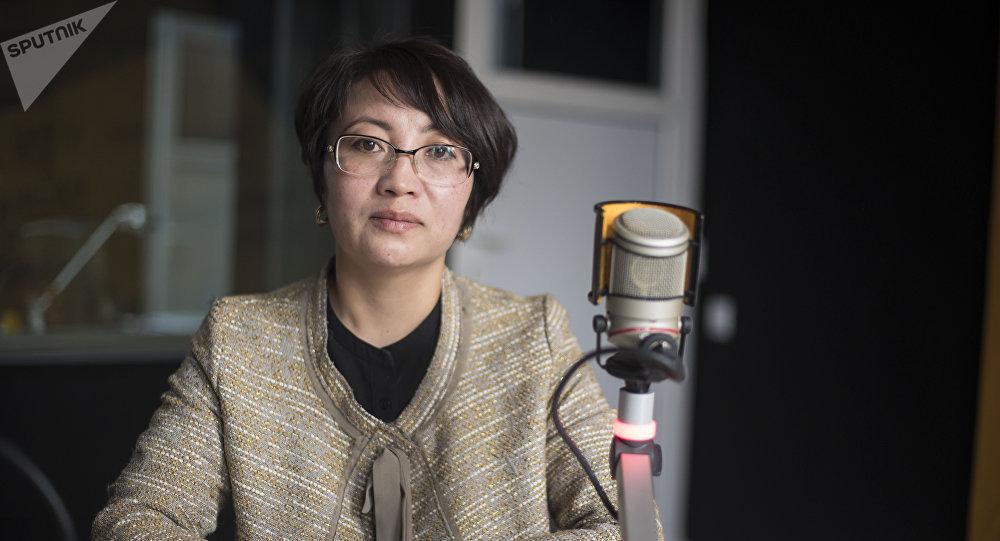Национальный менеджер Программы финансирования устойчивой энергии в Кыргызстане (KyrSEFF) Нурзат Абдырасулова. Архивное фото