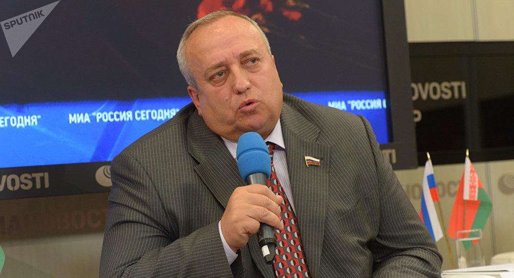 Член Комитета Совета Федерации РФ по обороне и безопасности Франц Клинцевич. Архивное фото