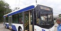 Троллейбусный маршрут № 6. Архивное фото