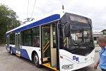 В Бишкеке на линию вышел новый троллейбусный маршрут № 6