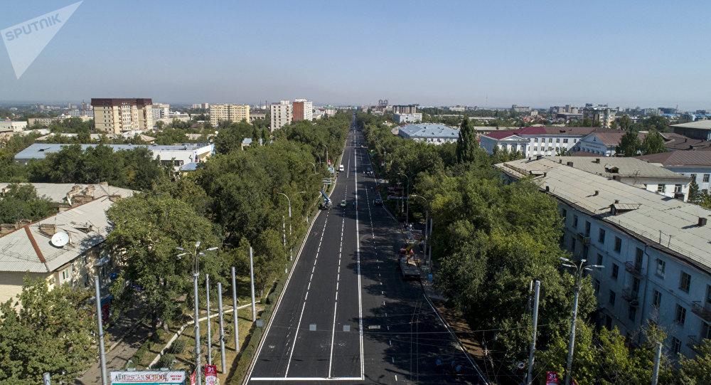 Бишкек. Архивдик сүрөт