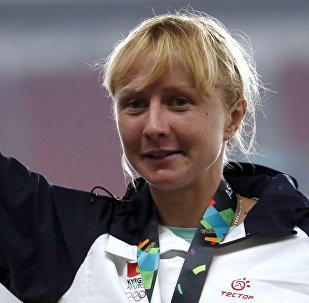 Кыргызстанская бегунья Дарья Маслова. Архивное фото