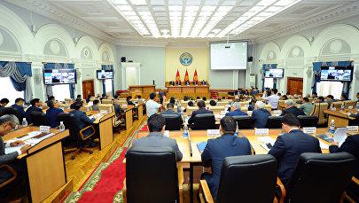 Очередное заседание правительства КР