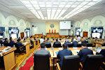 Заседание правительства Кыргызской Республики. Архивное фото