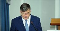 Архивное фото министра экономики КР Олега Панкратова