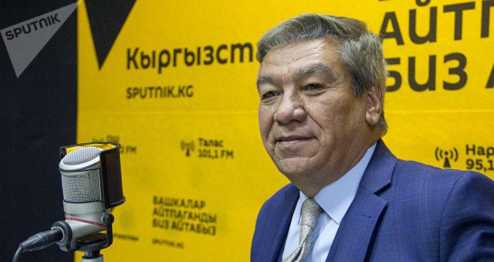 Афган Исламдык Республикасынын Кыргызстандагы элчиси Мохаммад Исса Месбах
