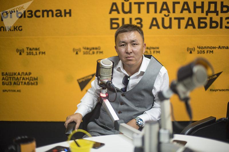 Предприниматель и архитектор Урмат Карыбаев
