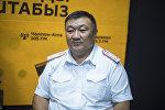 ИИМдин ЖКККББнын жетекчисинин орун басары Нур Сатыбалдиев. Архив
