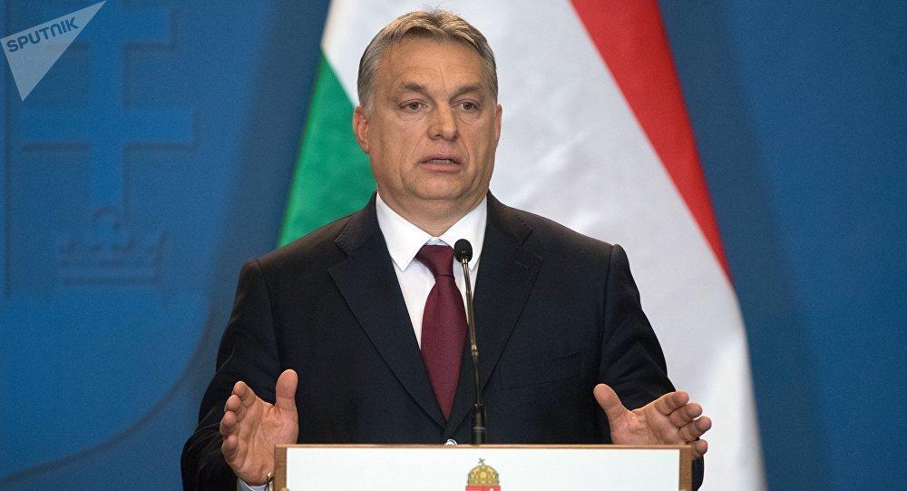 Архивное фото премьер-министра Венгрии Виктора Орбана