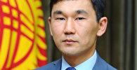 Кыргызстандын премьер-министринин маалымат катчысы Адилет Султаналиев. Архивдик сүрөт