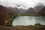 Озеро Ак-Кол в Жумгальском районе