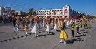 Празднование независимости Кыргызстана в Бишкеке. Архивное фото