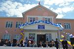 Нарын районунун Эчки-Башы айылында мектептин жаңы имараты пайдаланууга берилди