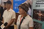 В аэропорту Манас встречают Дарью Маслову — видеотрансляция