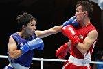 Кыргызстандык спортчу Азат Үсөналиев. Архивдик сүрөт