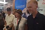 Чемпионка Азиады Дарья Маслова согласна выйти замуж за своего парня. Видео