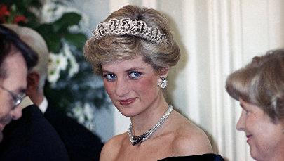 Британская принцесса Диана. Архивное фото
