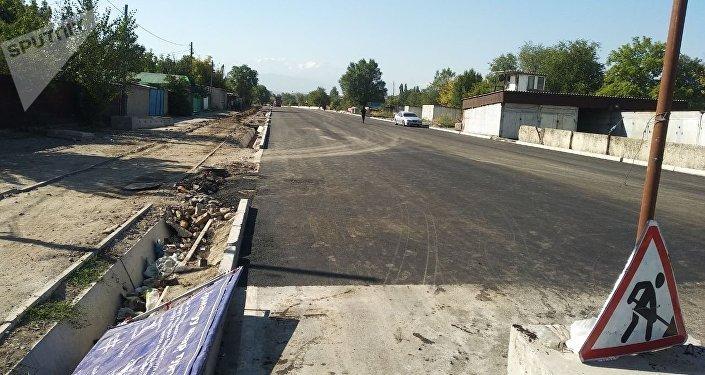 Ремонт улицу Торокула Айтматова в Бишкеке