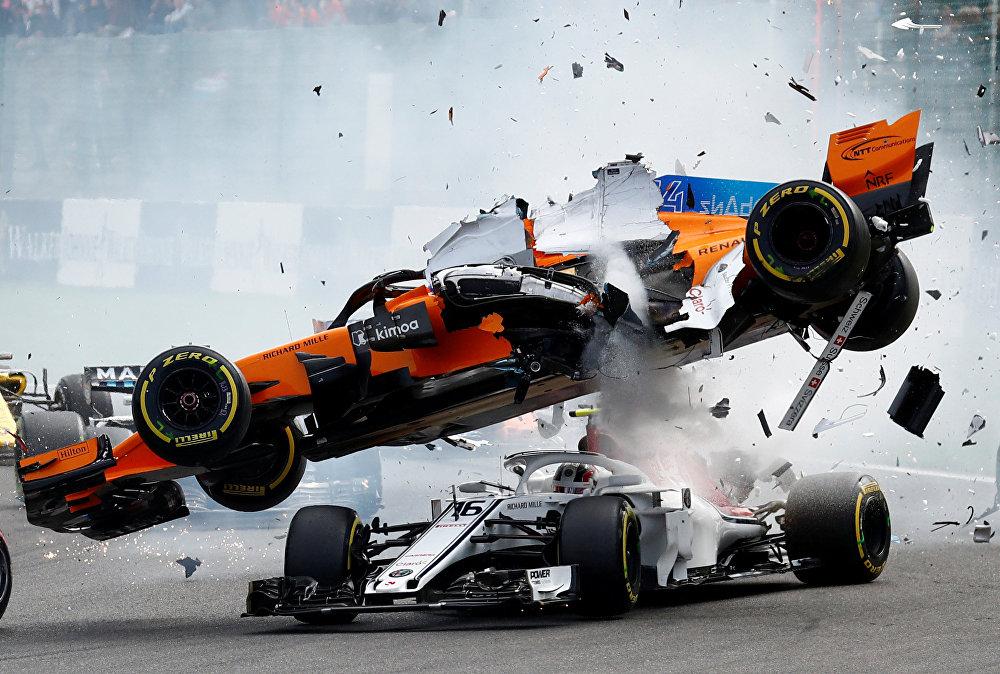 Бельгияда Формула-1 чемпионатындагы унаа кырсыгы. 26-август
