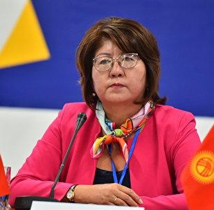 Замминистра Минкультуры КР Айнура Темирбекова