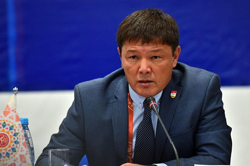Директор ГАФКиС при правительстве КР Канат Аманкулов