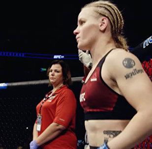 Одна из самых опасных женщин планеты — трейлер предстоящего боя Шевченко