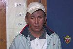 Убийство полицейского в Москве — появилось видео допроса подозреваемого