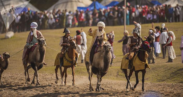 Көчмөндөрдүн дүйнөлүк III оюндары. Кырчын. Архивдик сүрөт