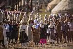 Кыргыздар. Архивдик сүрөт
