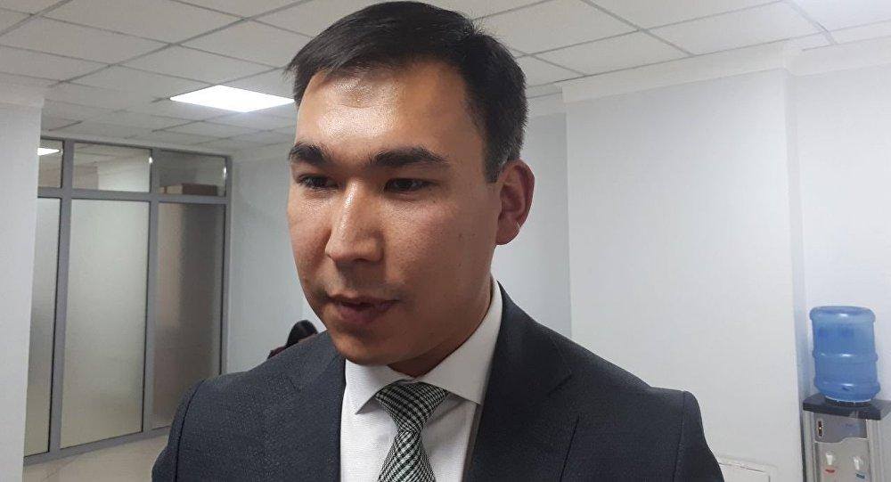 Заместитель председателя Государственного комитета информационных технологий и связи КР Кубаныч Шатемиров