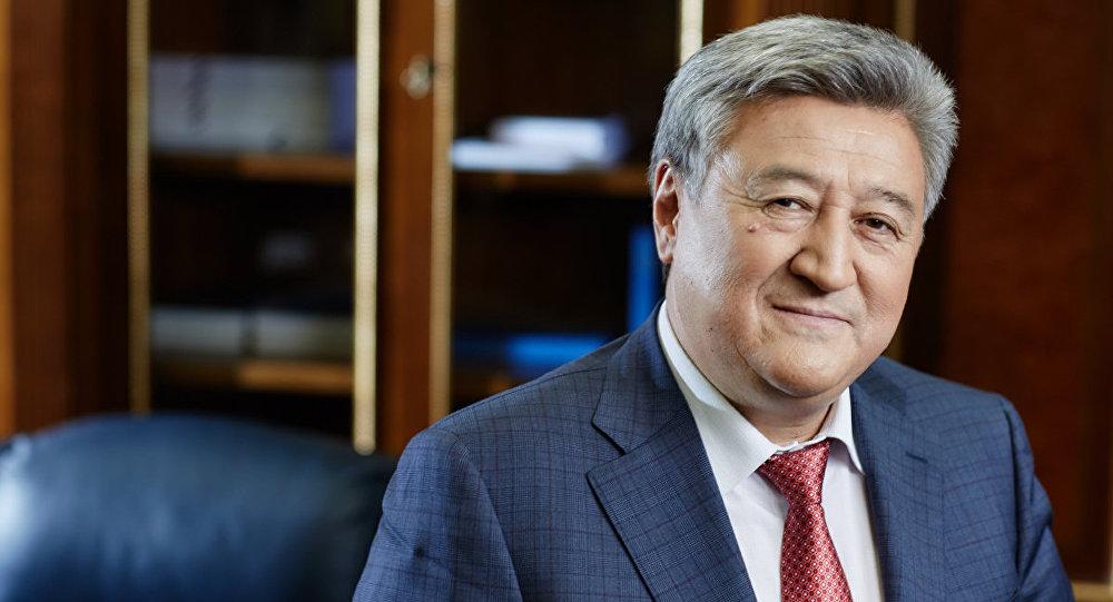 Архивное фото члена коллегии Евразийской экономической комиссии, министра ЕЭК по энергетике и инфраструктуре Адамкула Жунусова