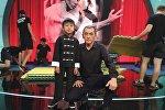 Восьмилетний кыргызстанец Нурмухаммед Ташмаматов с отцом в эфире детского шоу талантов Круче всех