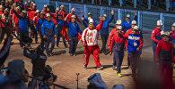 Көчмөндөрдүн дүйнөлүк III оюндарынын ачылыш аземине кыргыз спортчулары