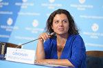 Архивное фото главного редактора телеканала RT и МИА Россия сегодня Маргариты Симоньян