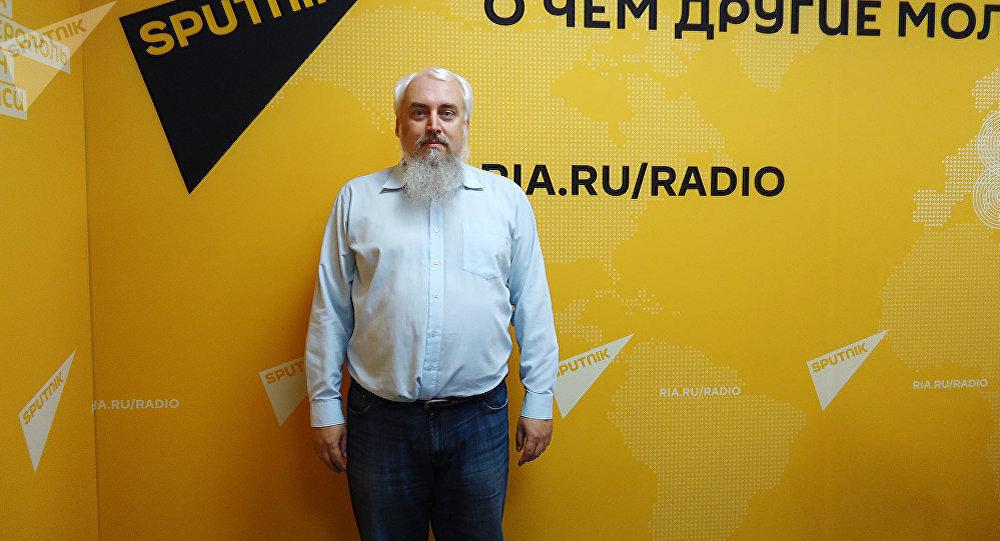 Архивное фото политолога, кандидата исторических наук Михаил Смолин. Архивное фото