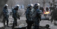 Сотрудники полиции Казахстана. Архивное фото