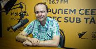 Врач-кардиолог Октавиан Ченушэ на радиостудии Sputnik Молдова