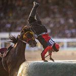 Самым ожидаемым спортивным событием был финал по кок-бору. За первое место боролись сборные Кыргызстана и Узбекистана. Отечественные спортсмены быстро ушли в отрыв и начали развлекать зрителей.