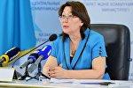 Вице-министр здравоохранения РК Лязат Актаева