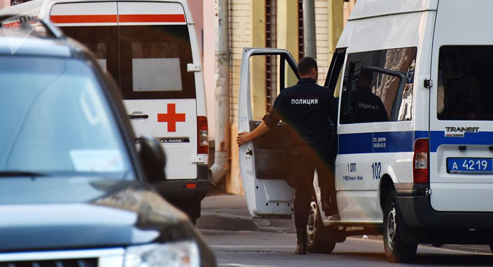 Москва шарындагы тез жардам жана полиция кызматы. Архив