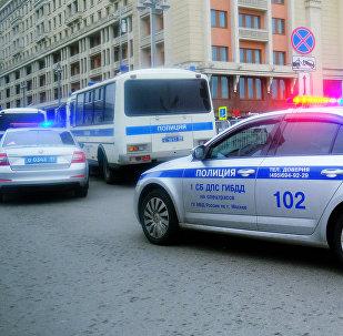 Москва шаарындагы полиция кызматы. Архив