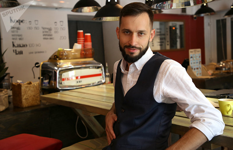 Бизнесмен, владелец нескольких кофеен в Бишкеке Степан Головаш