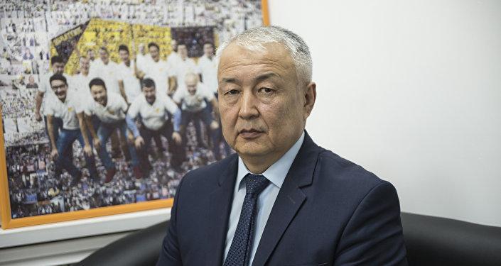 Директор государственного предприятия Кыргызкомур Канатбек Ашырбаев. Архивное фото