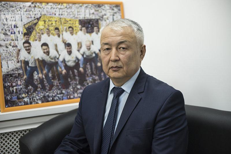 Директор ГП Кыргыз Комур Канатбек Ашырбаев