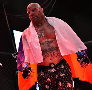 Америкалык спортчу, MMA мушкери, жиу-житсу жана грэпплинг боюнча дүйнөнүн көп жолку чемпиону Жефф Монсон. Архивдик сүрөт