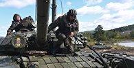 Учения танковых войск России. Архивное фото